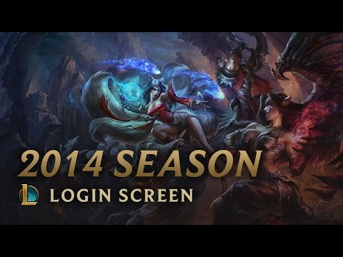 League Of Legends Season 2014 - Login Screen