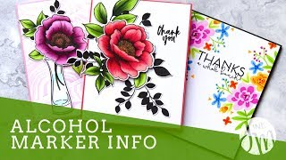Altenew Artist Markers - Alcohol Based Marker Techniques