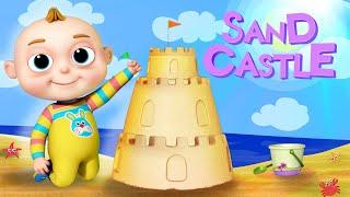 TooToo Boy - Sand Castle Episode   Cartoon Animation For Children   Funny Cartoons   Comedy Show