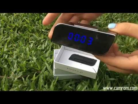 How to use hidden clock wifi camera