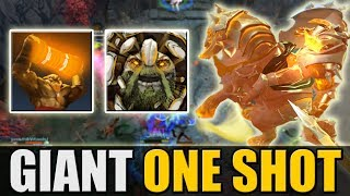 Giant Jumping Chaos Knight One Shot Build [The Best and Funniest Ability Draft Game] Dota 2