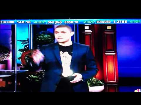 Trevor Noah On Cnbca - The Tonight Show With Jay Leno video