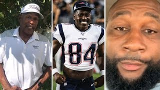 OJ Simpson, Marcus Spears REACTION To Antonio Brown Signing With New England Patriots