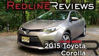2015 Toyota Corolla – Redline: Review