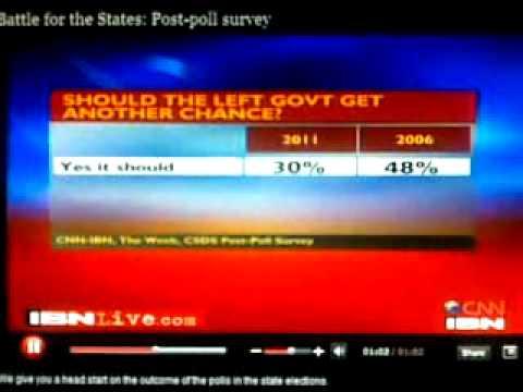 West Bengal election 2011 survey