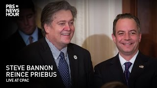 Watch Live: Steve Bannon and Reince Priebus live at CPAC