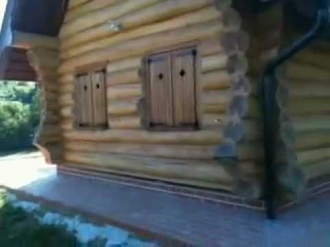 Oak Log Home - Drvena Kuća od Hrasta
