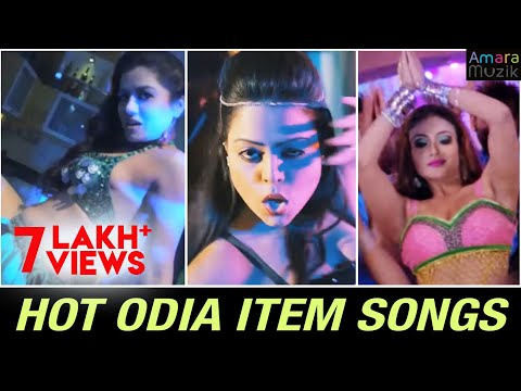 Top Odia HOT ITEM Songs   Non Stop Music Videos