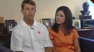 Fundraiser Hits Home For Clemson Coach, Wife