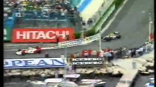 Mansell Vs Senna   Monaco Grand Prix 1992   Final 5 Laps   Murray Walker & James Hunt Commentary