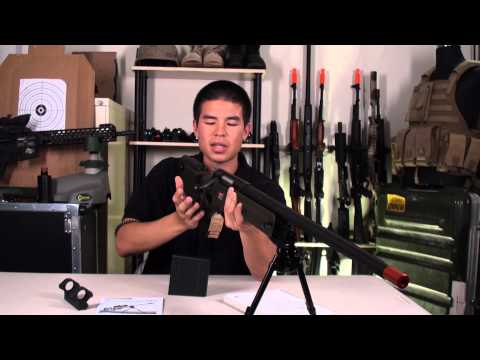 Airsoft GI - ARES Full Metal AW-338 Spring Powered Bolt Action Sniper Rifle Review