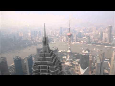 Shanghai von oben: Blick vom Shanghai World Financial Center