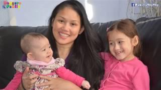 """Em LyLy biết gọi """"mẹ"""" khi gần 6 tháng tuổi/ ThyThy làm quà tặng mẹ"""