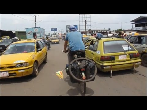 Cycling through West Africa 2/2 (Liberia, Côte d'Ivoire, Ghana, Togo, Benin, Nigeria)