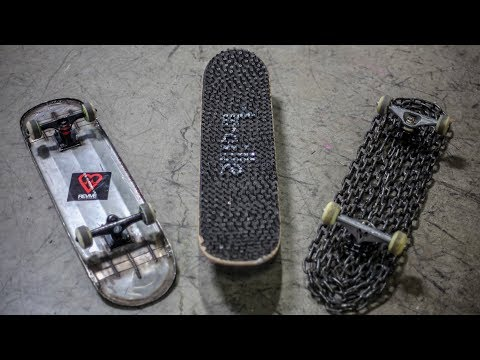 THE WORLD'S DEADLIEST SKATEBOARDS