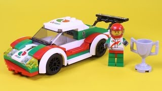"Lego Race Car Animated Building Instructions (Lego City 60053 Stop Motion ""How To"")"