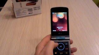 Обзор сотового телефона с большим экраном LG G360.