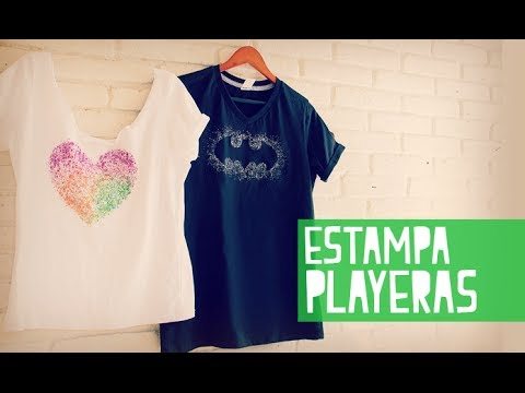Estampa playeras facil ísimo! (Anie)