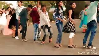 Janu Collage bhanva jateli  GUJARATI TIMLI 2017 ITM UNIVERSITY GIRLS DANCING