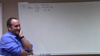 DEqns: discontinuous and Dirac Delta, 11-1-18, part 1