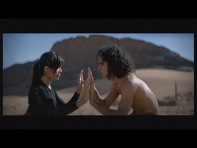 O bailarino do deserto - cinema