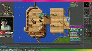 [Tibia] Secret service quest [Squeezing gear of girlpower] while some people try killing me (Part 3)