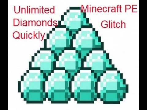 How To Get Unlimited Diamond In Minecraft PE