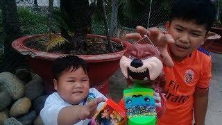 Đồ chơi trẻ em bé pin cún con thần kỳ ❤ PinPin TV ❤ Baby toys dog miracle