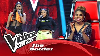 The Battles : Leisha Perera V Sayumi Sasanga | This Is Me | The Voice Sri Lanka