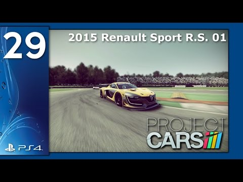 Project CARS #29 *NEW* 2015 Renault Sport R.S. 01 [1080p HD 60Fps PS4] - No Commentary