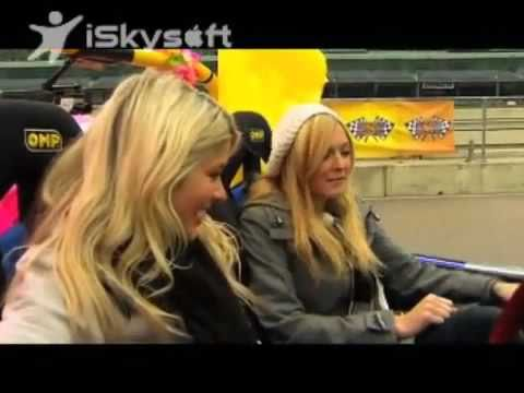 Fearne Cotton & Holly Willoughby -Ant and Dec's Saturday Night Takeaway- Beat the Boys!