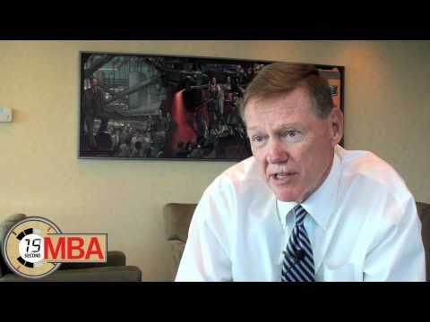 30 Second MBA: Alan Mulally: How do you deal with workplace anxiety and stress?