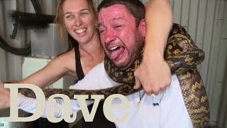 Craig Wrestles With A Python | Deadliest Pests Down Under | Dave