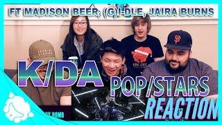 Non Kpop Fans React To K Da Pop Stars Ft Madison Beer G I Dle Jaira Burns