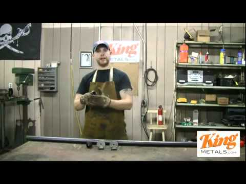 How to Weld Pipe Rail PART 1