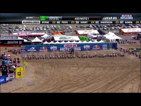 2013 Thunder Valley 450 Moto 1: Barcia Earns the Motorcycle Superstore Holeshot