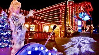 Opening Day Of Dollywood Smoky Mountain Christmas 2018 Featuring Dolly Parton New Glacier Ridge