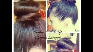Model flokesh Chignon 11:34