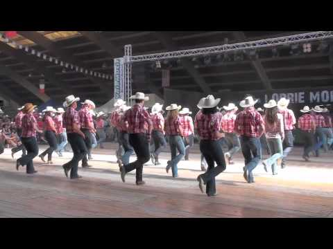 Brotherhood Line Dance - Voghera Country Festival 2011 video