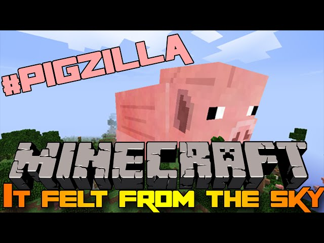 Minecraft Mod: It felt from the sky!