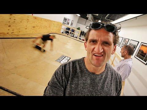 Skate Ramp in my Building!