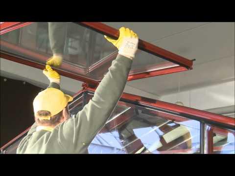 Aufbauvideo Gewächshaus / Glashaus Venezuela 400x400 TEIL2
