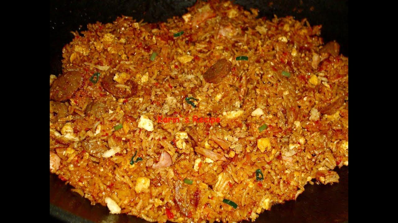 Tips Mudah Membuat Nasi Goreng Jawa Spesial... nyam..nyam..
