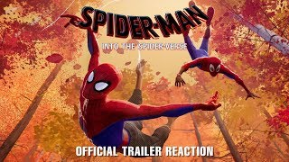 SPIDER-MAN: INTO THE SPIDER-VERSE Reaction ft. Mike Bow | No Fillers