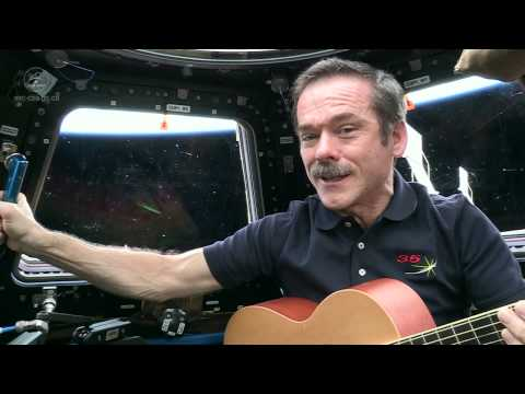 Chris Hadfield invites all to sing on Music Monday