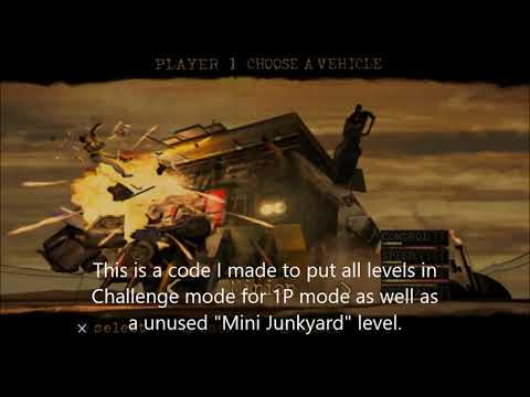 Twisted Metal Black: Hidden Cheats and Unused Level
