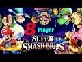 8 Player Smash: Mario VS Luigi VS Peach VS Yoshi VS Wario VS Rosalina VS Bowser VS Bowser Jr.
