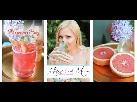 The Summer Fling Cocktail Recipe - Makin' it with Maren
