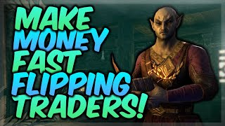 HOW TO MAKE GOLD EASILY IN ESO BY TRADING! (Elders Scrolls Online Guide)