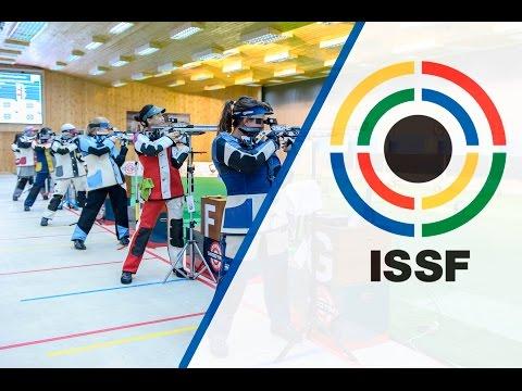 Finals 10m Air Rifle Women - 2015 ISSF Rifle, Pistol, Shotgun World Cup in Gabala (AZE)